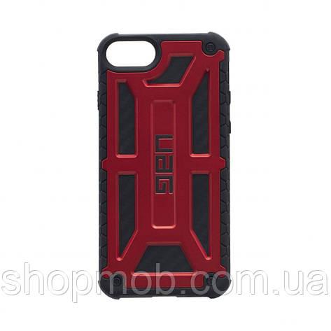 Чохол UAG Monarch for Apple Iphone 8 Колір Червоний, фото 2