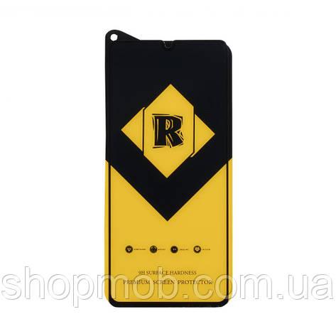 Защитное стекло R Yellow for Samsung A41 без упаковки Цвет Чёрный, фото 2