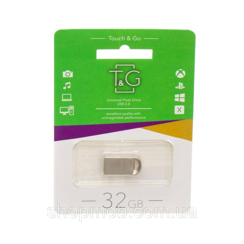 USB Flash Drive T&G 32gb Metal 107 Цвет Стальной