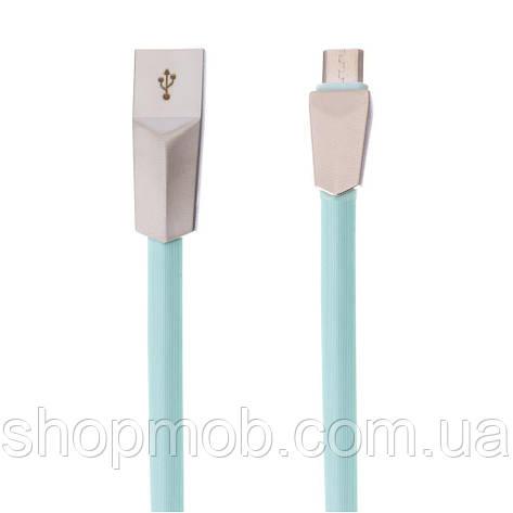 USB кабель для зарядки LDNIO LS26 Micro Цвет Зелёный, фото 2