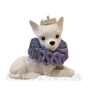 Статуетка собачка королева висота