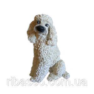 Статуетка собачка білий пудель