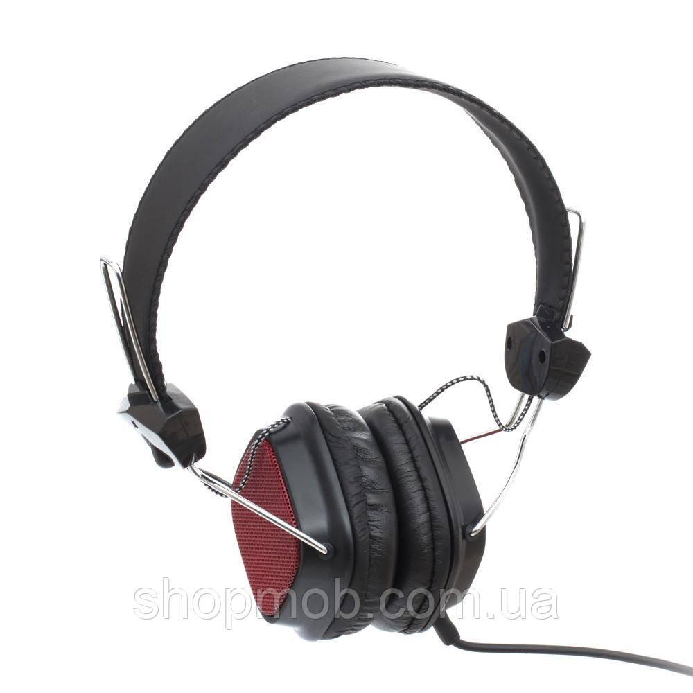 Наушники Sonic Sound E68A/MP3 AA Цвет Красный
