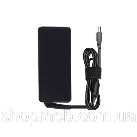Зарядное Устройство Для Ноутбука Lenovo 20V 4.5A (8.0*5.5 USB Pin) Цвет Чёрный, фото 2