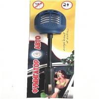 Фумигатор автомобильный 24V в прикурку на гибк. ножке  под жидкий и таблетки