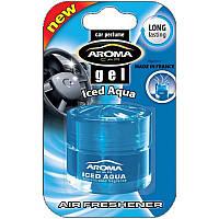 """Освеж.гель 50ml - """"Aroma"""" - Gel - Iced Aqua (Аква) (40шт/уп)"""