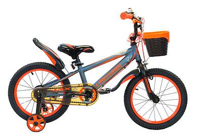 "Дитячий велосипед 16"" Crossride Jax"