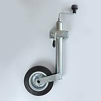 Колесо опорное прицепа WINTERHOFF 150 кг + хомут 48мм 2 отв. (Польша) (1860905)