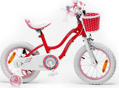 "Дитячий велосипед 16"" Royal Star Baby Girl"