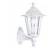 Уличный настенный светильник PL6102 белый, металл