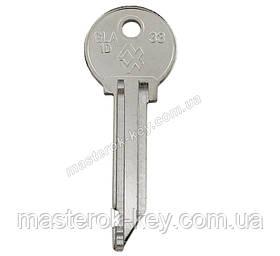 Заготівля ключа GLA-1D