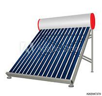 ГВС на базхе солнечных коллекторов