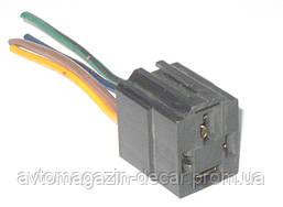 Разьем реле 4х контактный с проводами 70А (реле стартера ВАЗ 1118 -2170)