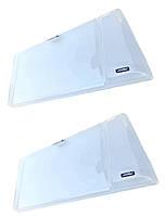 """Защита фар ВАЗ 2108/2109/21099  светлая (прозрачная)   """"Voron Glass"""""""