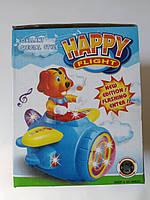 Музыкальна игрушка  собака на самолете детская