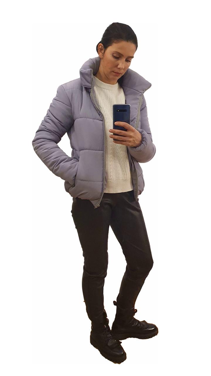 Модна жіноча куртка р. з 42 по 48 модель вик.сірий