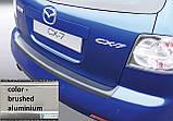 Пластикова захисна накладка на задній бампер для Mazda CX-7 2006-2009, фото 2
