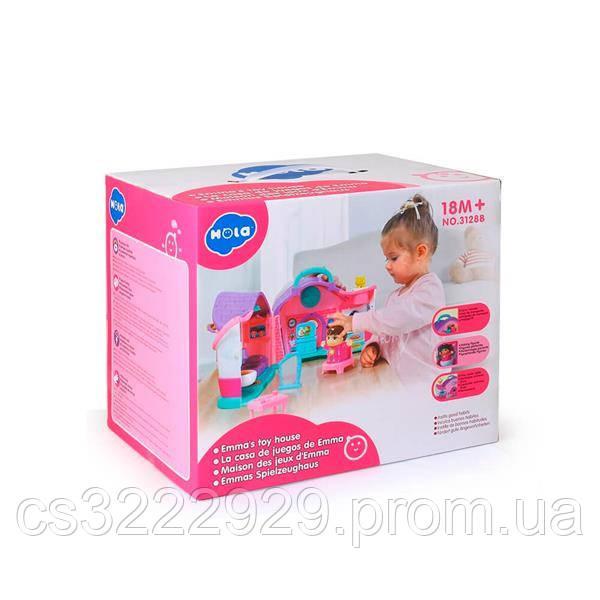 Іграшка музична Hola Toys Ляльковий будиночок Емми (3128B)
