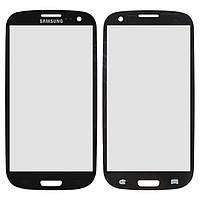 Защитное стекло корпуса для Samsung Galaxy S3 i9300, черный, оригинал