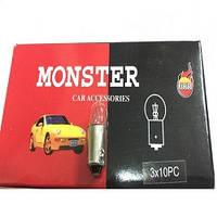 """Лампа 24V  (бесцок.) W5W """"Monster""""   (уп.10шт)***"""
