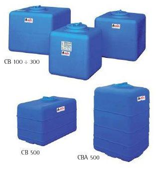 Пластиковые баки ELBI для надземного монтажа серия CB