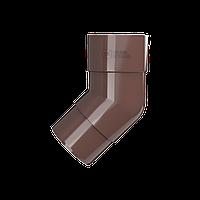 Колено трубы 108° Технониколь, Коричневое ПВХ D125/82 мм