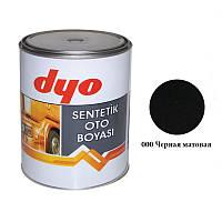 """Краска алкидная 1000ml  """"Dyo""""  черный мат  №000   (art.119-9A36-11)"""