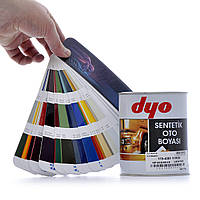 "Краска алкидная 1000ml  ""Dyo""  черная V1  №601   art.119-9352-11"
