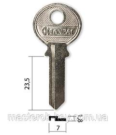Заготівля ключа TRI-5D