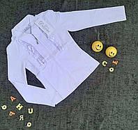 Шкільна блузка для дівчинки ріст 140-158