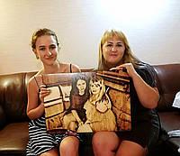 Лучший подарок подруге (Выжженный портрет из фото)