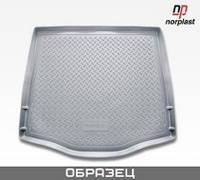 Резиновый коврик NORPLAST  в багажник для Toyota LC-150 Prado (J150) (2010) (5 мест)