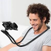 Держатель для телефона на шею 360 градусов вращения гибкий селфи (Живые фото)