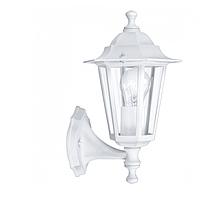 Садово-парковый настенный светильник PL6101 Е27 белый, металл