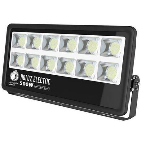Светодиодный LED прожектор Horoz Electric LION-500 500W 6400K 42500Лм (068-013-0500-011), фото 2