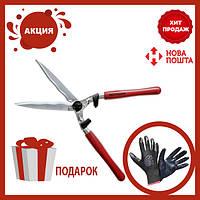 Садовые ножницы для стрижки кустов | Секатор-сучкорез для сада | Веткорез Berger 4590 для живой изгороди