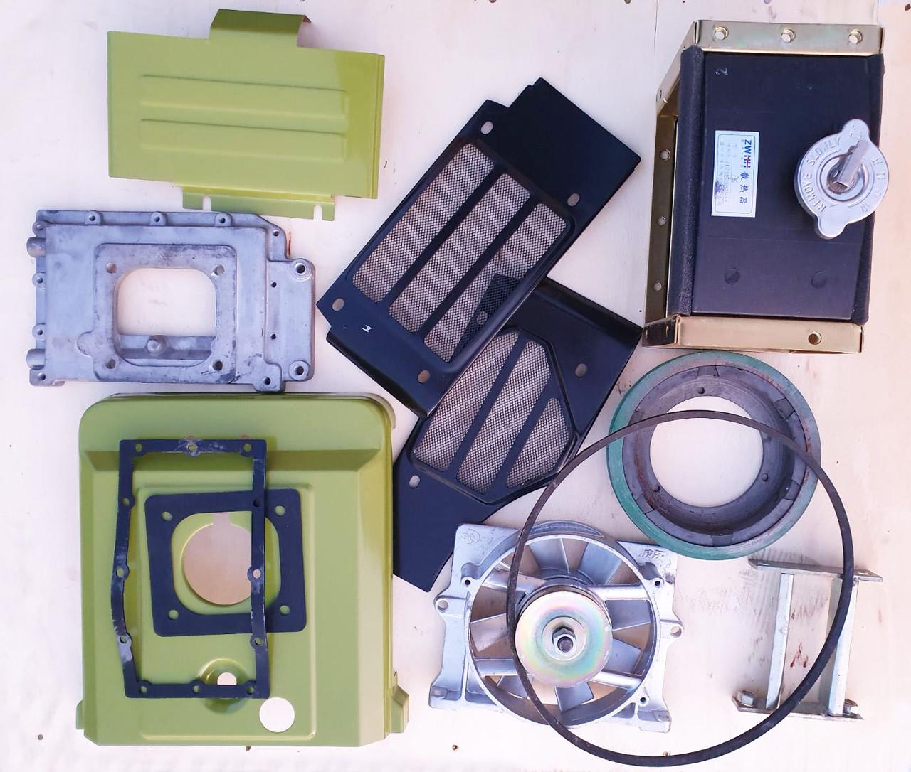 Комплект переоборудования ПОЛНЫЙ на Радиаторный тип водяного охлаждения двигателей R180, R175, 7-9 к.с