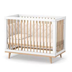 Детская кроватка Верес Нью-Йорк ЛД2 (бело-буковый)