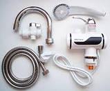 Проточный водонагреватель+душ Delimano MP 5208,с нижним подключением 3000 Вт, фото 5