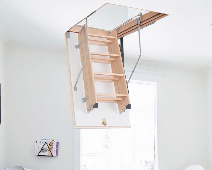 Чердачная лестница AltavillaTERMO 3S крышка 26 мм
