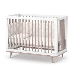 Детская кроватка Верес Нью-Йорк ЛД2 (капучино-белый)