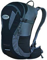 Рюкзак велосипедный спортивный Terra Incognita Racer 12 Черный/Серый