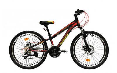 """Підлітковий велосипед 24"""" Crossride Blast ECO"""
