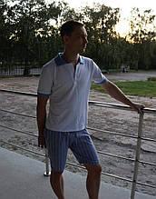 Мужской костюм шорты+поло