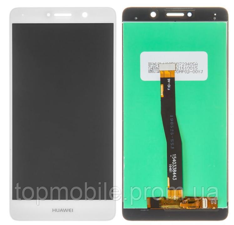 Дисплей Huawei Honor 6X (BLN-L21)/Mate 9 Lite/GR5 (2017) + сенсор белый ( модуль, стекло)