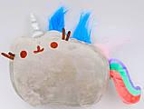 Мягкая игрушка кот-единорог радуга Pusheen cat (vol-651), фото 3
