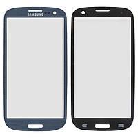 Защитное стекло корпуса для Samsung Galaxy S3 i9300, синий, оригинал