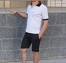 Мужской костюм поло + шорты