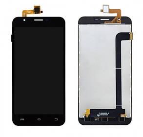 Модуль (дисплей+сенсор) для Oukitel U7 Pro, BRAVIS Atlas A551 Dual SIM чорний, фото 2