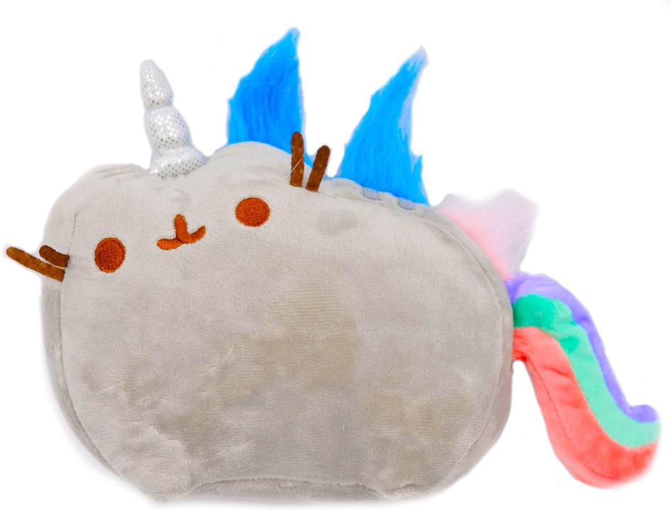 Мягкая игрушка кот-единорог радуга Pusheen cat (n-651)